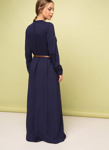 DeFacto Elbise Lacivert